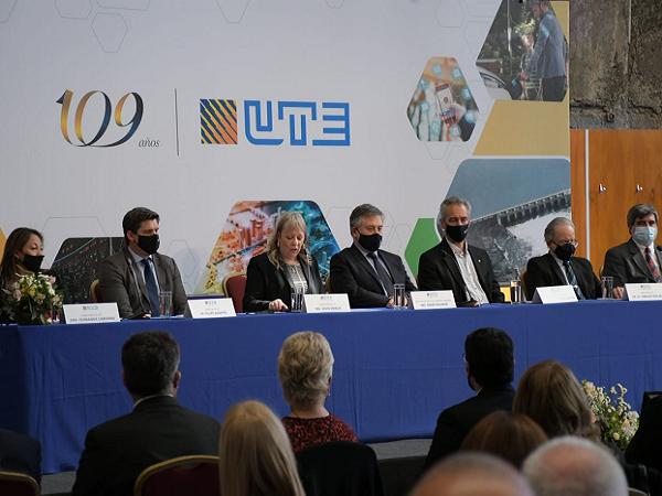 """UTE celebró 109 años """"transformando con energía nuestro país"""""""