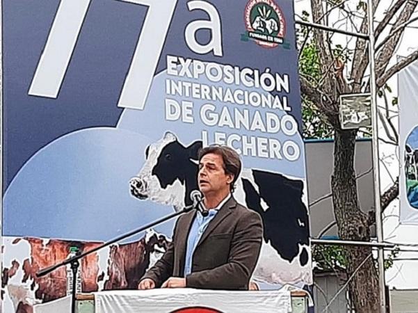 El presidente participó del cierre de la Expo San José