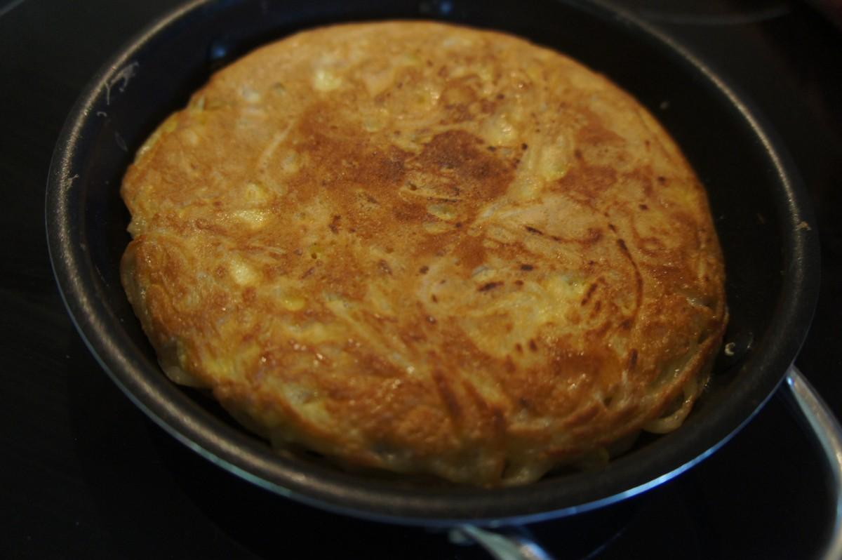 Tortilla de Fideos