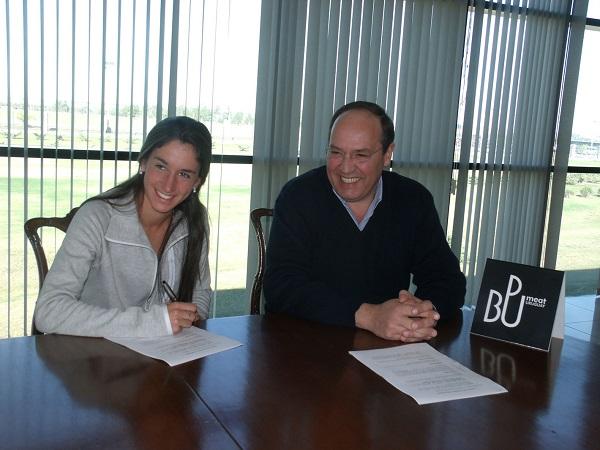 Bpu apoya a María Pía, atleta categoría internacional