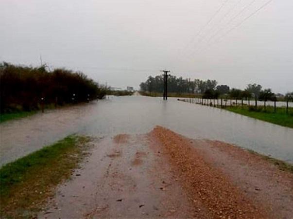 Las precipitaciones afectaron más de la mitad de los caminos de Cerro Largo