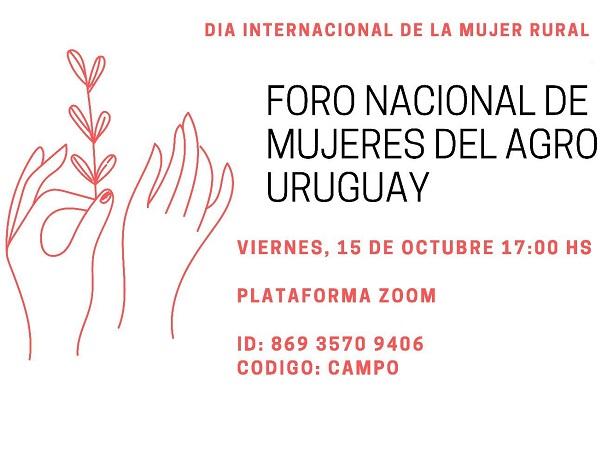 Se realizará el Foro por el Día Internacional de la Mujer Rural