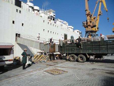 Se concreta embarque a Turquía, pero persisten dificultades para ganado en pie