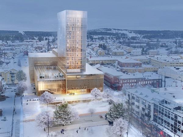 Suecia y su rascacielos de 20 pisos hecho en madera