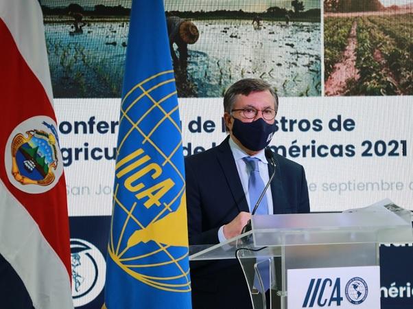El Dr. Manuel Otero fue reelecto como director general de IICA
