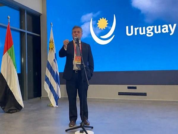 Ministro Paganini en Dubái: Uruguay quiere ser conocido por el mundo