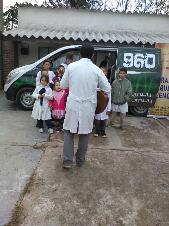 La comunidad de Durazno apoyó a la escuela 13 de Aguas Buenas