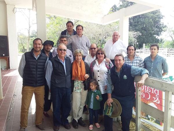 Ramos & García colocó los Braford de cabaña El Telégrafo a U$S 2.719 de promedio