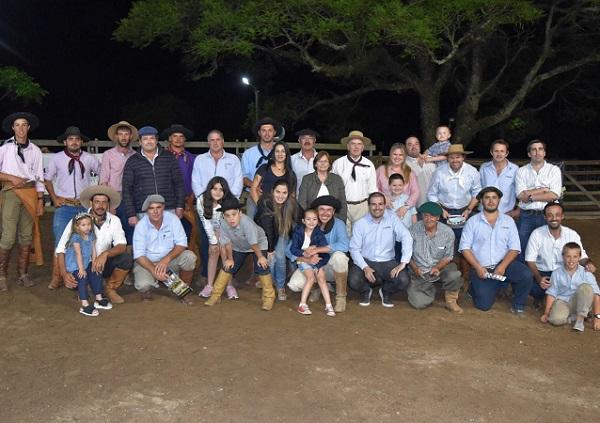 Exitoso remate de los Criollos Da Fronteira