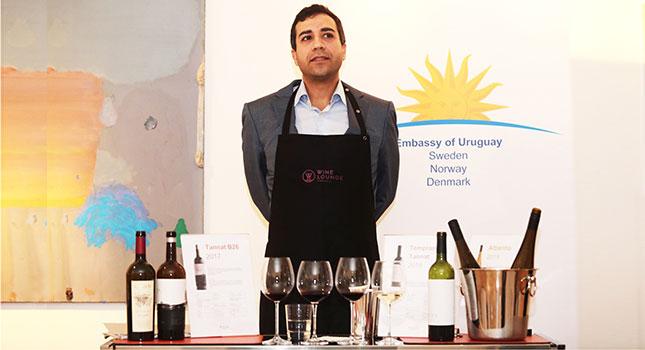 Promoción en Suecia de vinos y otros alimentos uruguayos