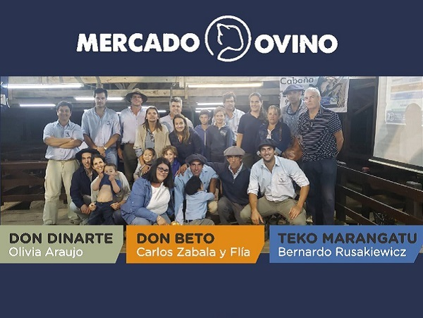 El Mercado Ovino dispersó la oferta a Treinta y Tres, Tacuarembó, Rivera y Cerro Largo