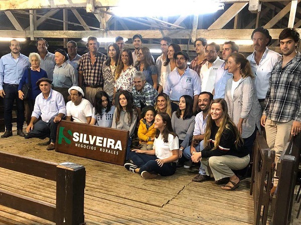Silveira NR vendió toda la oferta Corriedale de La Carolina