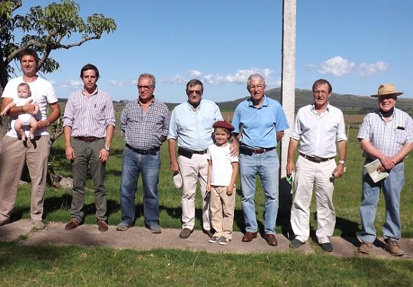 Juan Carlos Martínez y Romualdo Rodríguez vendieron los borregos de Lomas del Verdún