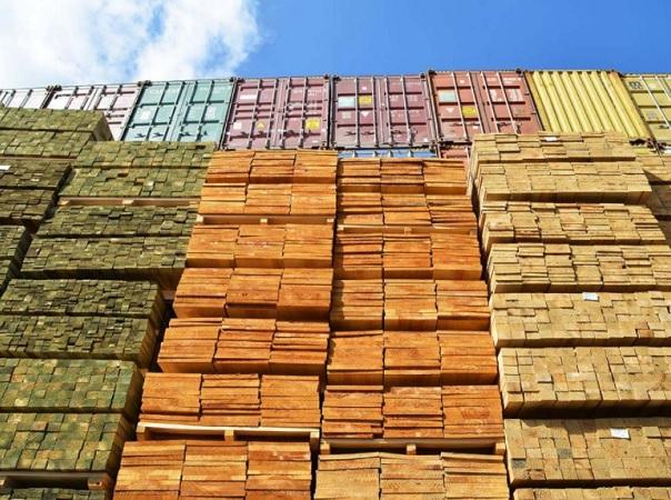 La madera gana espacio en el comercio exterior