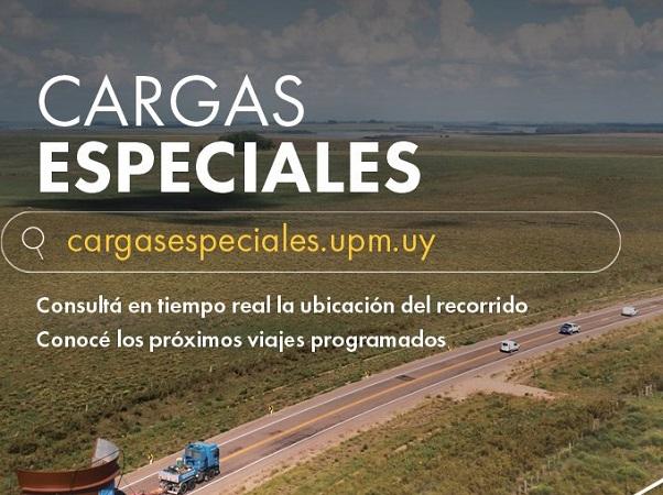 UPM lanzó dispositivo de seguimiento digital de cargas especiales