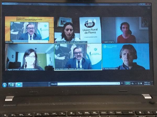 Uruguay y la FAO avanzan con herramientas para paliar los efectos de los desastres climáticos