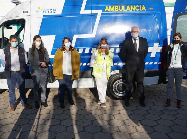 Fundación UPM donó ambulancia especializada al hospital de Paso de los Toros