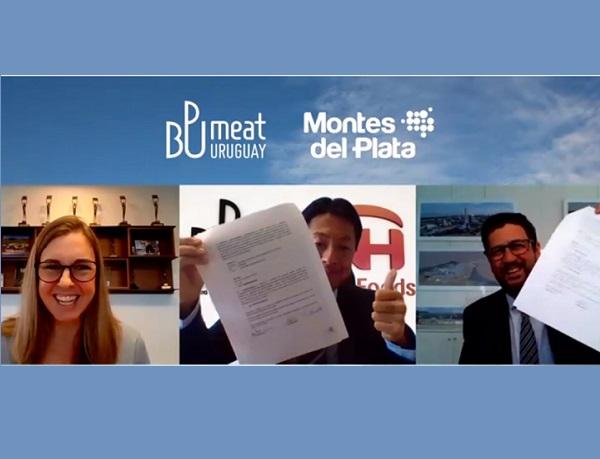 Montes del Plata y BPU Meat firmaron certificación de carne carbono neutral