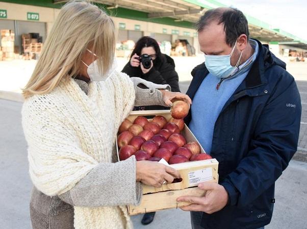 La UAM contribuyó a la baja de precios de frutas y verduras, dijo la Intendencia de Montevideo
