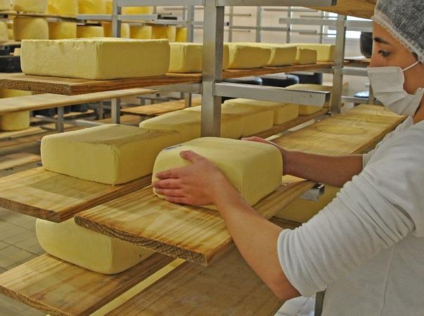 Los quesos tuvieron subas leves