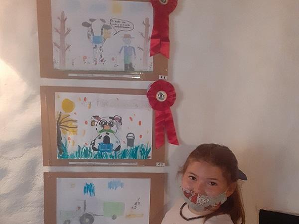 Las Sociedad de Criadores de Holando invitan a los niños a dibujar